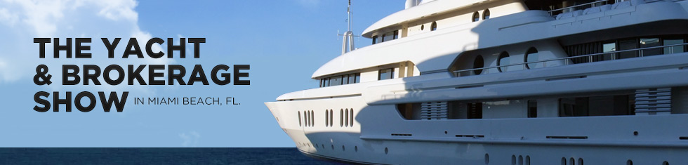 Miami Yacht and Brokerage Show Yacht Charter